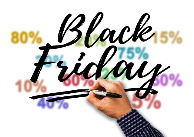 Venerdì torna il Black Friday!